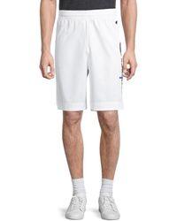 Champion Men's Logo Drawstring Shorts - Pretty Coral - Size Xs - White