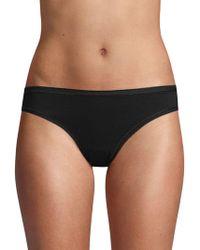 Ava & Aiden Low-rise Bikini Briefs - Black