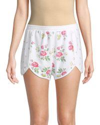 Wildfox - Lane Floral-print Shorts - Lyst