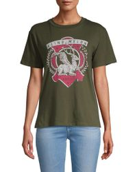 Mimi Chica - Blind Melon Cotton Tee - Lyst