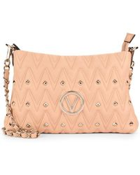 Valentino By Mario Valentino - Vaniled Studded Leather Shoulder Bag - Lyst