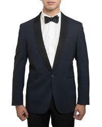 Michael Bastian Slim-fit Wool Tuxedo - Blue