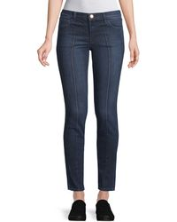 J Brand - 811 Pintuck Skinny Jeans - Lyst