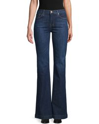7 For All Mankind Dojo Flare Jeans - Blue