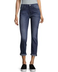 7 For All Mankind Josefina Washed Jeans - Blue