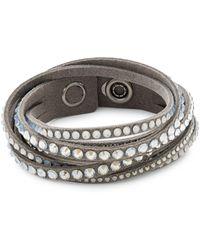 Swarovski Slake Crystal Wrap Bracelet - Multicolour