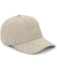 San Diego Hat Company - Embroidered Stripe Baseball Cap - Lyst