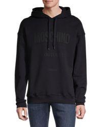 Moschino ! Logo Hoodie - Blue