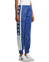 Kappa Side-logo Jogger Pants - Blue