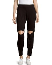 Nesh NYC - Peek-a-boo Jogger Trousers - Lyst