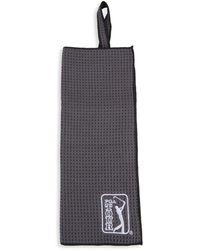 PGA TOUR Logo Textured Towel - Grey