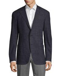 Canali Classic Notch Sportcoat - Grey