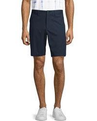 Theory Zaine Slim-fit Chino Shorts - Blue