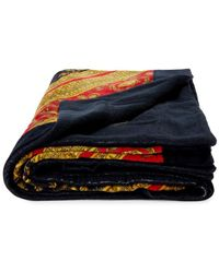Versace Printed Cotton Beach Towel - Multicolour