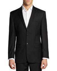Calvin Klein - Classic-fit Wool Suit Jacket - Lyst