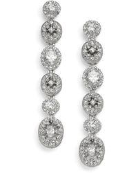 Adriana Orsini Women's Faceted Linear Drop Earrings - Multicolour