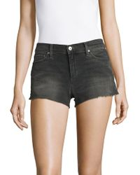 Joe's - Easton Frayed Denim Shorts - Lyst