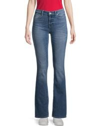 True Religion Becca Mid-rise Bootcut Jeans - Blue
