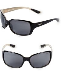 Revo - 62mm Wrap Sunglasses - Lyst