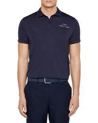 J.Lindeberg Alan Regular-fit Technical Jersey Polo - Blue