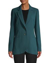 Carolina Herrera Wool-blend Jacket - Green