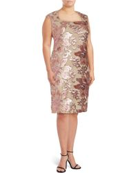 Isaac Mizrahi New York - Sequin Embellished Dress - Lyst