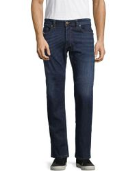 DIESEL - Safado Straight Leg Jeans - Lyst