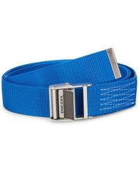 DIESEL Men's B-onavigo Belt - Royal Blue