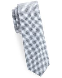 Joe's Collection - Circle-print Slim Cotton Tie - Lyst