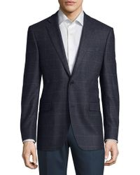 Saks Fifth Avenue - Checkered Cashmere Jacket - Lyst