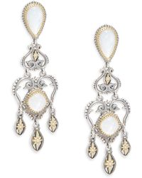Konstantino - Erato 18k Yellow Gold & Sterling Silver Chandelier Drop Earrings - Lyst