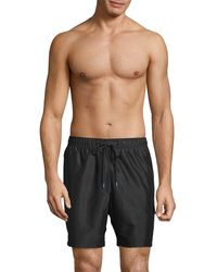 Calvin Klein Pride Volley Swim Shorts - Black