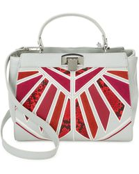 Sam Edelman Elisha Leather Satchel - Red