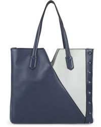 Sam Edelman - Emery Colorblock Leather Tote - Lyst
