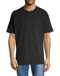 Zanerobe Short-sleeve Cotton Pocket Tee - Black