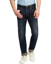 Ralph Lauren - Sullivan Stretch Selvedge Jeans - Lyst