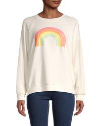 Wildfox Women's After The Rain Sweatshirt - Salt - Size Xl - White