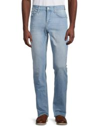 7 For All Mankind Slimmy Clean Pocket Stretch Jeans - Blue