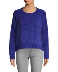 Cliche Long-sleeve Sweater - Blue