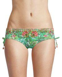 OndadeMar Hipster Bikini Bottom - Green