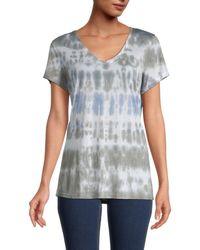 Philosophy Tie-dye T-shirt - Blue