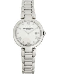 Raymond Weil Shine Stainless Steel & Diamond Bracelet Watch - Metallic