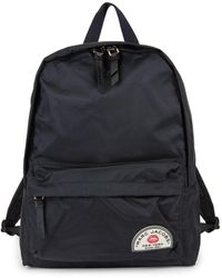 Marc Jacobs Large Collegiate Nylon Backpack - Black