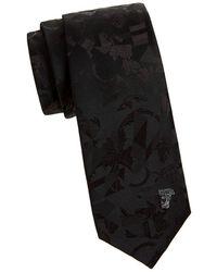 152a5cf4e3 Textured Abstract Silk Tie - Black