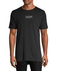 Zanerobe Graphic Short-sleeve Cotton Tee - Black