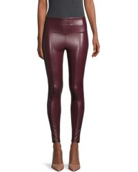David Lerner High-rise Sleek Leggings - Purple