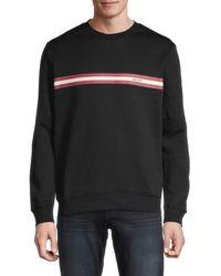 Bally Graphic Crewneck Sweater - Black