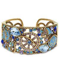 Heidi Daus Women's Nautical Crystal Bracelet - Blue