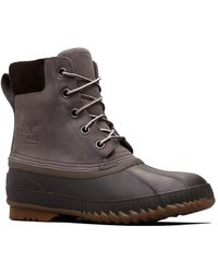 Sorel Cheyanne Ii Leather Lace-up Boots - Brown