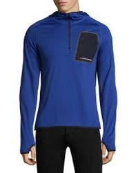 325c3ddba3e97 Lyst - New Balance Raptor Running Jacket in Blue for Men